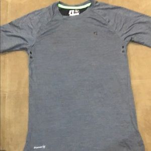 5 for $35 Russell Grey Training Fit Shirt